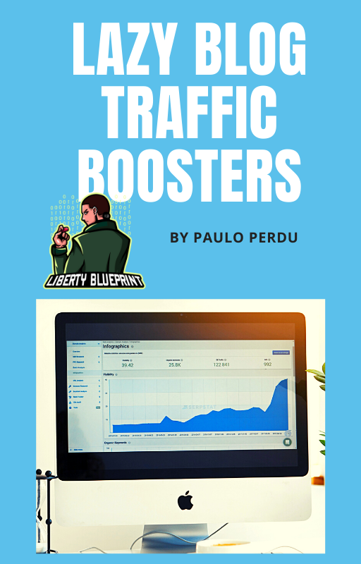 Lazy Blog Traffic Boosters Cover